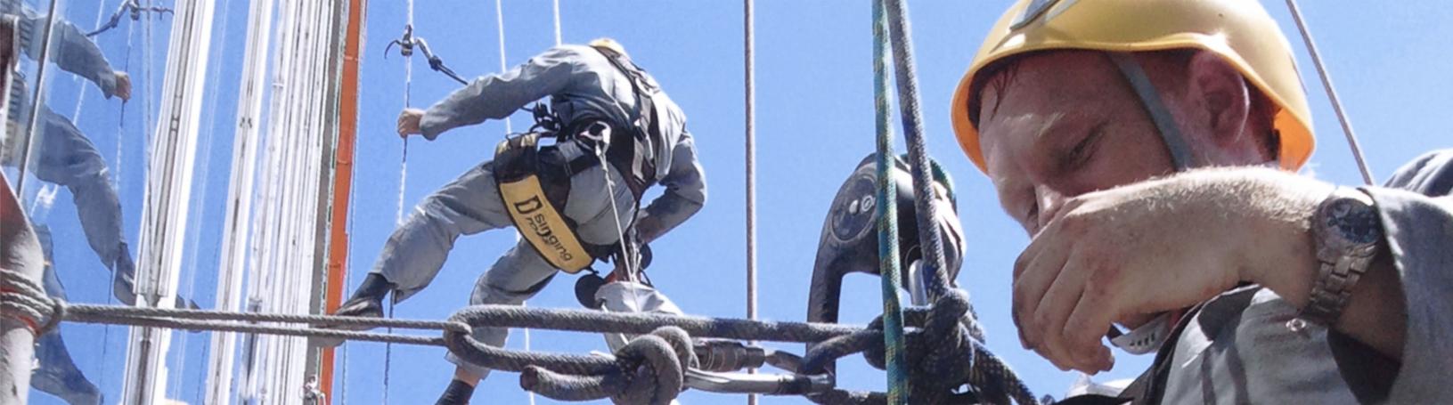 Расценки на все работы промышленных альпинистов