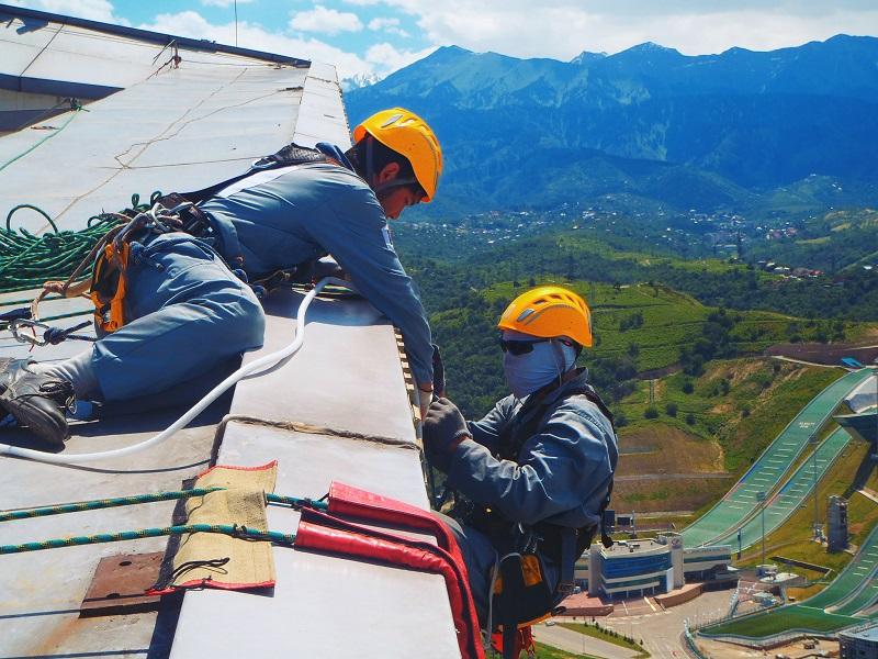 Расценки работы промышленный альпинизм