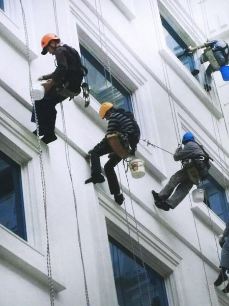 Промышленные альпинисты москва частные